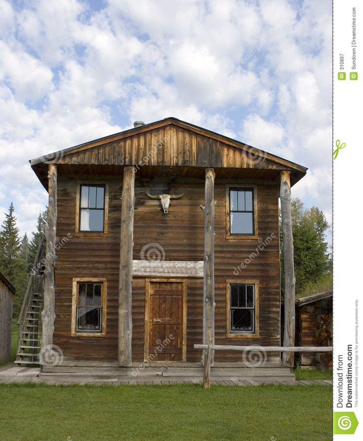 old western buidings  | Old West Bank Building Royalty Free Stock Photography ...