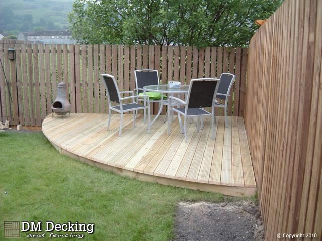 Corner Deck Ideas For Grill/smoker