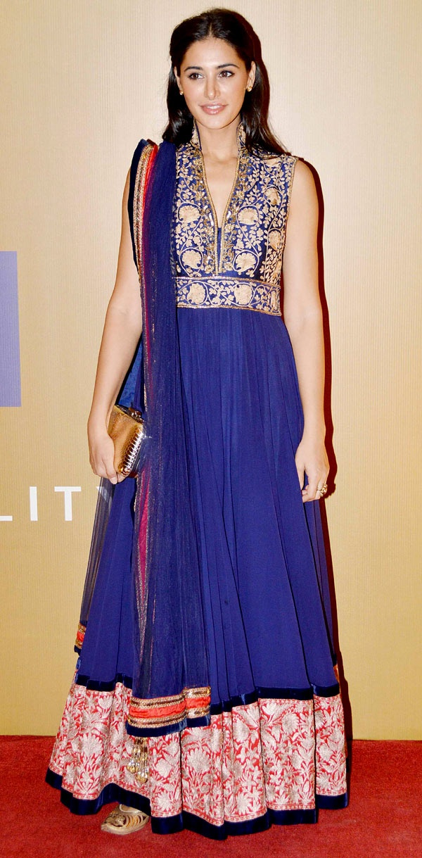 Nargis Fakhri at the Equation 2013 fundraiser hosted by actor Rahul Bose #Bollywood #Fashion
