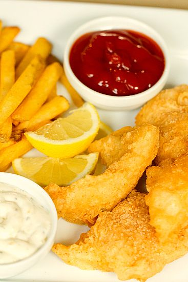 Jeff loves beer battered Cod. I will for sure be making this next Friday.
