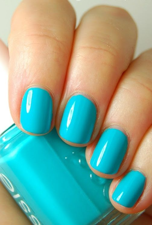 Essie nail polish. Perfect shade for spring.