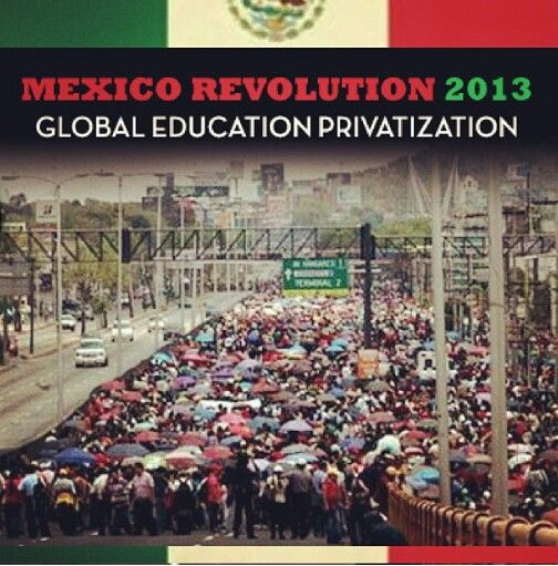 Mexico Teacher Demonstrations