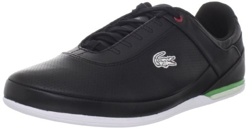 LACOSTE Brillen HS Men's Casual Shoes, Black/Green/Red  Visit store to see price