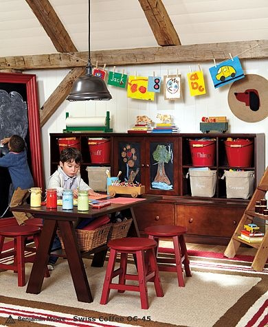 great playroomPlayrooms Ideas, Dining Room, Potterybarn, Kids Playrooms, Kids Room, Room Ideas, Pottery Barn Kids, Plays Room, Pottery Barns Kids