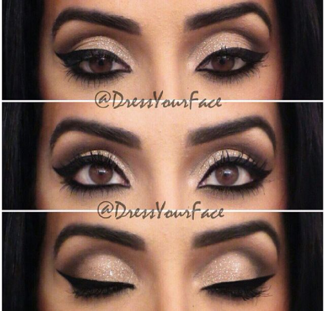 Some lovely eyeshadows that you can re-create at home using FM Mineral eyeshadow