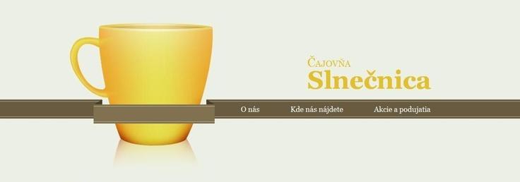 Header design, fake tearoom website (school project)