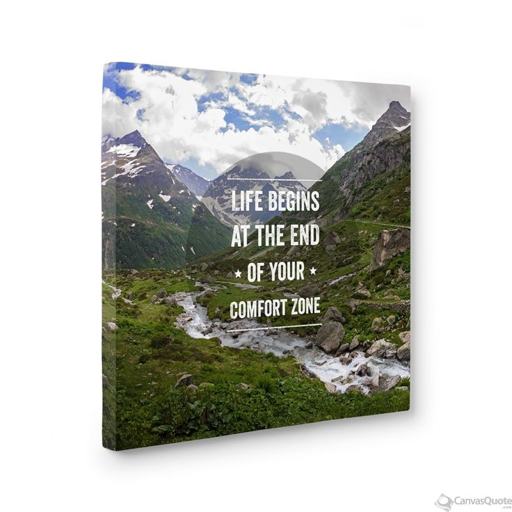 Life Begins at the End of Your Comfort Zone (Swiss Alps)