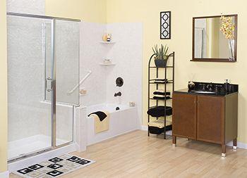 Pics Of Side by side tub u shower in one Custom BathroomsSide By SideBathroom RemodelingTubsVanities