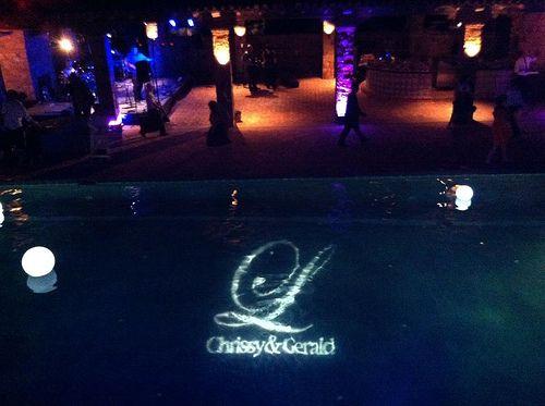 Austin Texas Event, Room Wash, Uplighting, Purple, Blue, Outdoor Lighting,