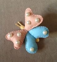 Kelebek İçi Dolgulu Magnet bebek şekeri