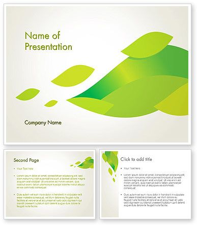 http://www.poweredtemplate.com/12230/0/index.html Bright Green Leafs PowerPoint Template