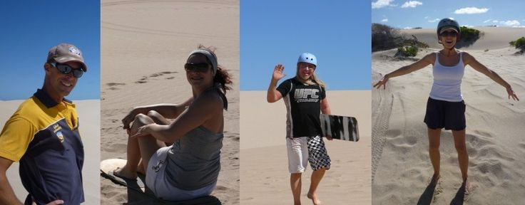 Sandboarding in Kalbarri  600 km from Perth