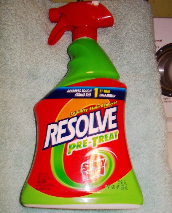 Resolve Pre-Treat Trigger Removes Tough Stains!