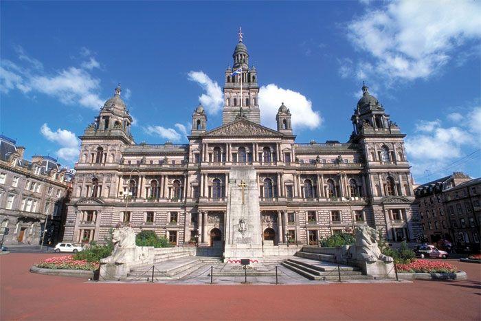 Glasgow City Chambers, Glasgow City Centre - gorgeous!