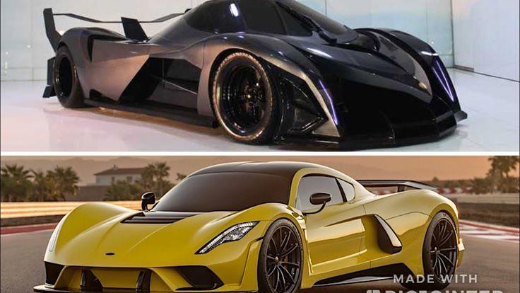 Devel Sixteen Vs Hennessey Venom F5 2018 All Cars Car Vehicles