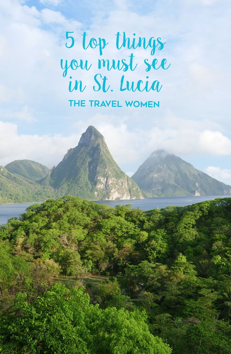 Five Top Things You Must See in St Lucia. St. Lucia's all-inclusive resorts are hard to leave, but to get a feel for the local culture and see the top spots we chose Real St. Lucia Tours to show us around. Real St. Lucia Tours is the highest rated St. Lucia Tour Operator and offered the best tour of the entire island of St. Lucia at our own pace. Here are the top five things we saw on our own custom tour of St. Lucia. | The Travel Women #stlucia #stluciatour #tour #travel #caribbeantravel