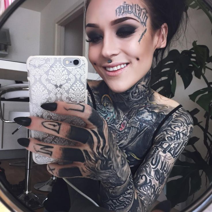 72 best to be inked images on pinterest tattooed women for Hot tattooed babes