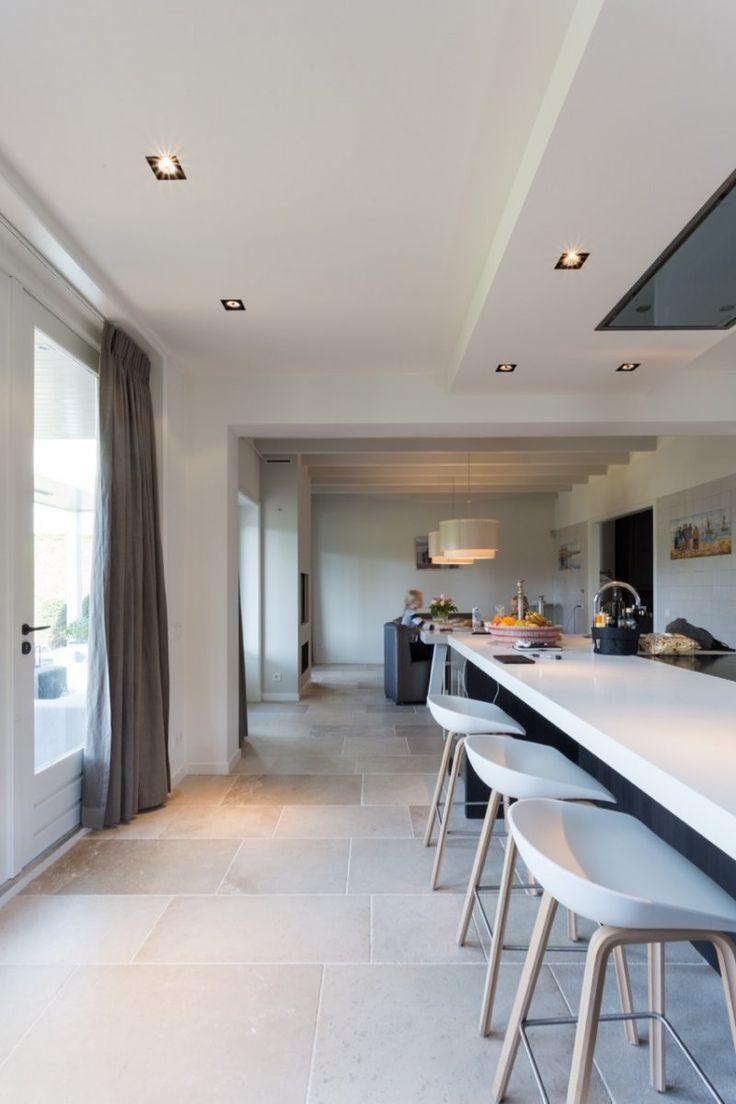 natuursteen vloer bourgondische dallen niveaux gris // french