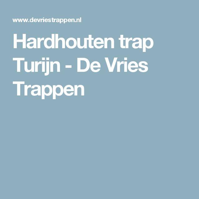 Hardhouten trap Turijn - De Vries Trappen