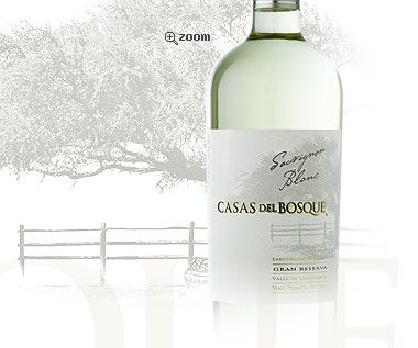 """Gran Reserva Sauvignon Blanc, Casas del Bosque - """"Aromas of grapefruit, kiwi and flint dominate on the nose. In the mouth guava and green melon lead to a smoke and sea salt finish. A bright, zesty acidity imparts excellent structure and length."""""""
