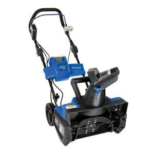 Awesome Gadgets And Gizmos: Cordless Single Stage Brushless Snow Blower