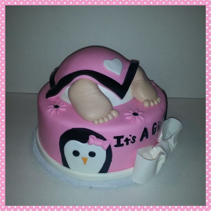 penguin baby shower cake sumer 39 s cake creations for the love of c