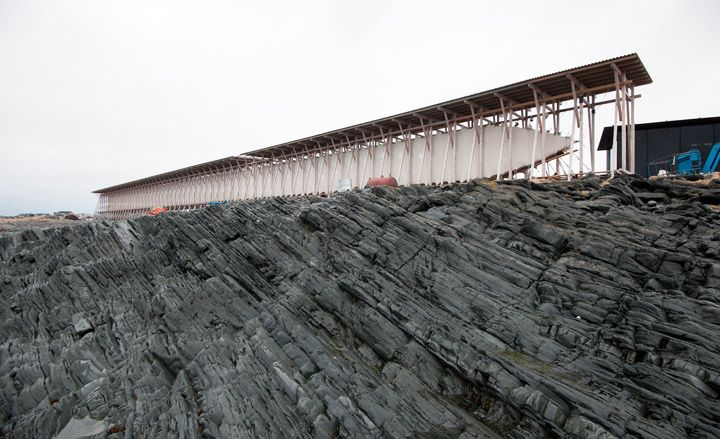 The Steilneset Memorial by Peter Zumthor and Louise Bourgeois (Vardø, Norway)