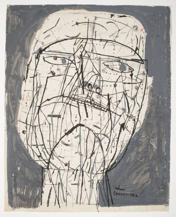 Sir Eduardo Paolozzi 'Man's Head', 1952–3 © The Estate of Eduardo Paolozzi