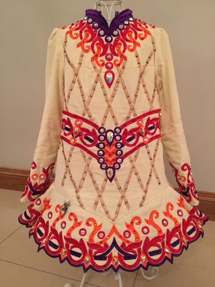 Elegant Gavin Doherty Irish Dance Dress Solo Costume For Sale