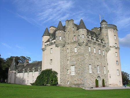 Castle Fraser from the South West