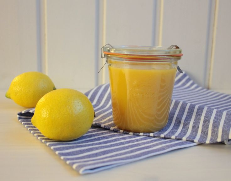 Citrónový krém (Lemon Curd)