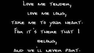 Elvis Presley - Are You Lonesome Tonight w/lyrics - YouTube
