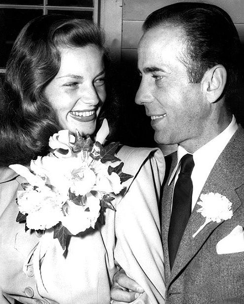 Bogie and bacall lauren bacall and humphrey bogart for Lauren bacall and humphrey bogart age difference