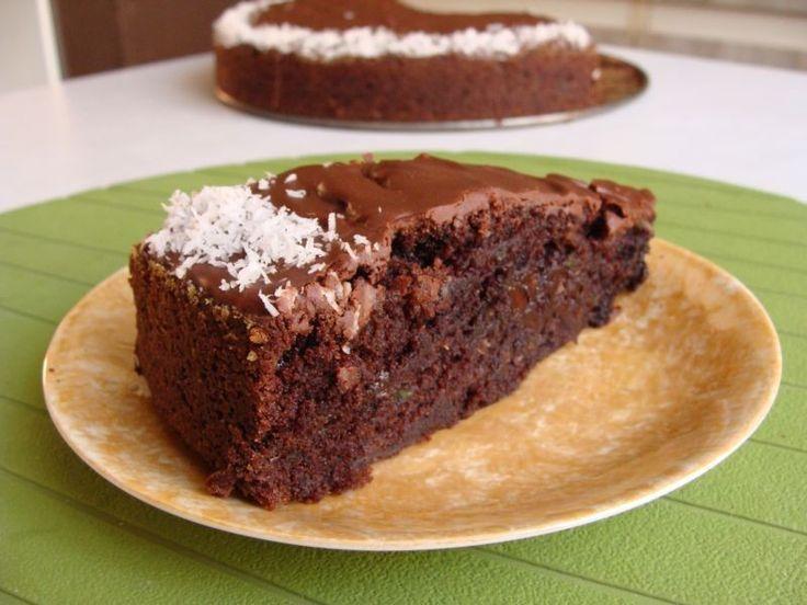 Moje Wypieki   Ciasto czekoladowe z cukinią
