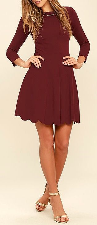 c14c776adc6b8 what shoes to wear with maroon dress 50+ best outfits