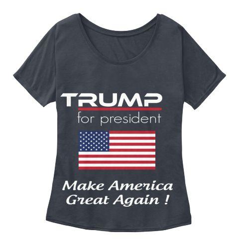 Trump for president in america