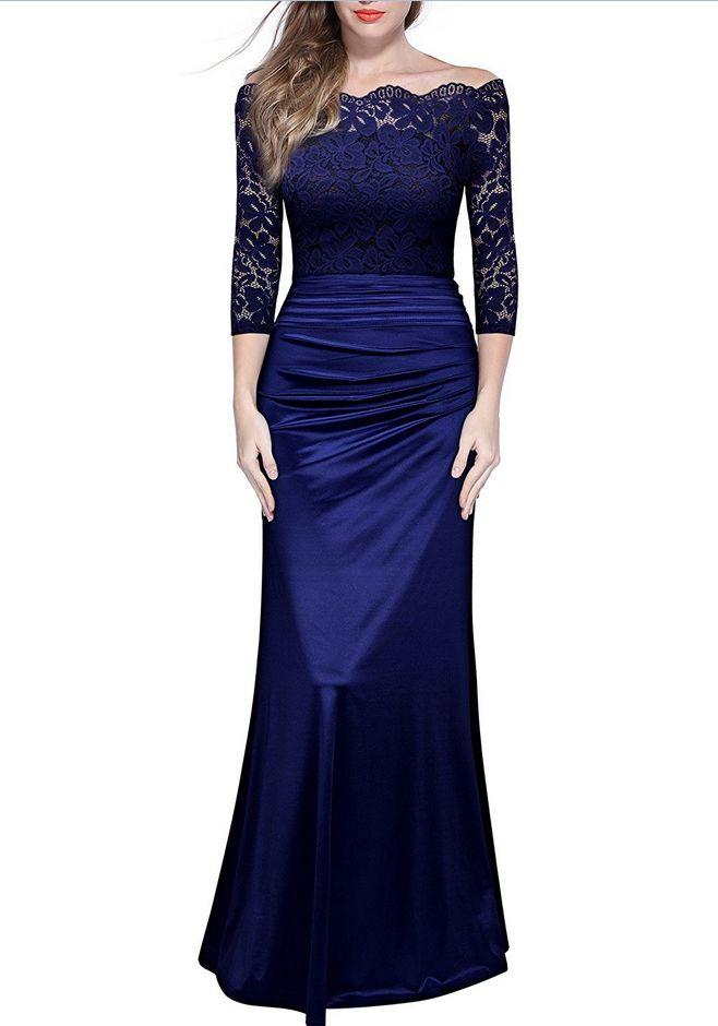 Women's Retro Prom Dress, Charming Evening Prom Dress,