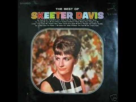 AM I THAT EASY TO FORGET by SKEETER DAVIS (+playlist)