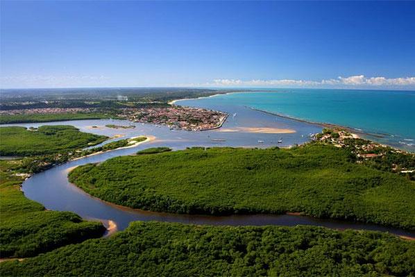 Vista aérea Porto Seguro: Brazil Brasil, Safe Harbor, My Brazil, Www Portosegurotur Com, In Port, My Places, Bahia