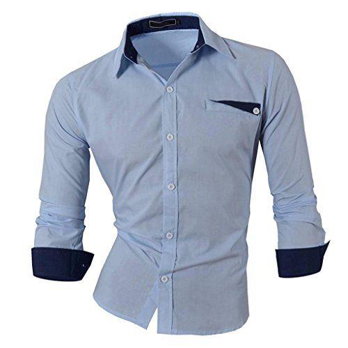 Jeansian Hombre Camisas Moda Manga Larga Men Fashion Slim Fit Casual Long Sleeves Shirts 8522 LightBlue S Jeansian http://www.amazon.es/dp/B00NARB6GM/ref=cm_sw_r_pi_dp_buFOwb02XKWDH
