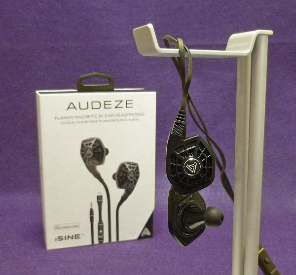 Audeze iSINE 10 planar magnetic in-ear headphones review