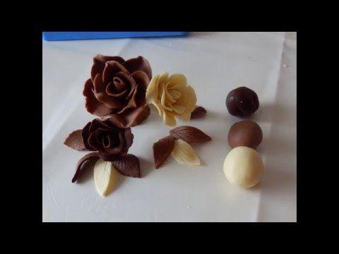 шоколад для моделирования, шоколадная мастика /Modelierschokolade - YouTube