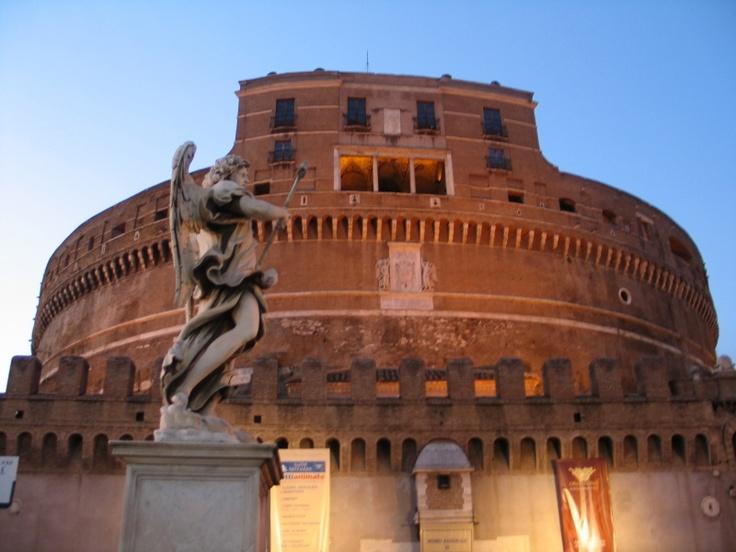 Zamek Świętego Anioła w Rzymie. Fot. radio RMF FM
