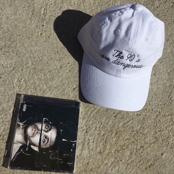 THE 90s Are Dangerous The Weeknd Hat Cap New New UNIF Accessories Hats