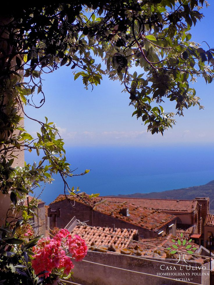 Sea view from the terrace in the third floor - Casa L'Ulivo Pollina