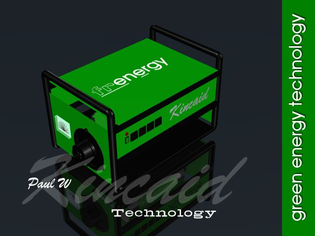 Kincaid Frenergy - Generate electricity without a drop of oil, gasoline, propane, natural gas or water.