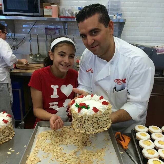 Buddy From Cake Boss Wife Name