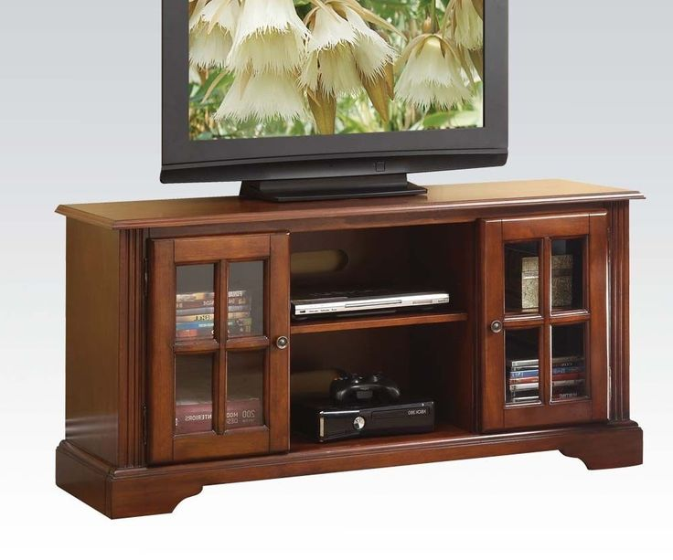 ᐈ Acme Chic Modern Cherry Finish TV Stand 💰Current price: $741