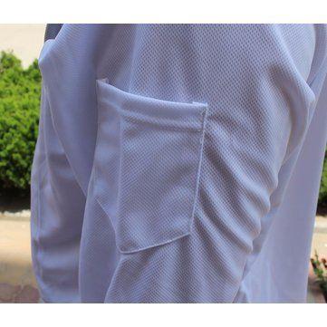Men's Quick Dry Bamboo Fiber Long Sleeve Breathable Fishing Shirts UV Sunscreen Cloth With Hood Sale - Banggood.com