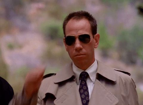 New party member! Tags: season 2 twin peaks showtime episode 1 deal with it sunglasses albert rosenfield miguel ferrer